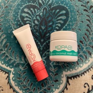 💋 3/$12 Kopari Set Face Cream Coconut Melt Travel